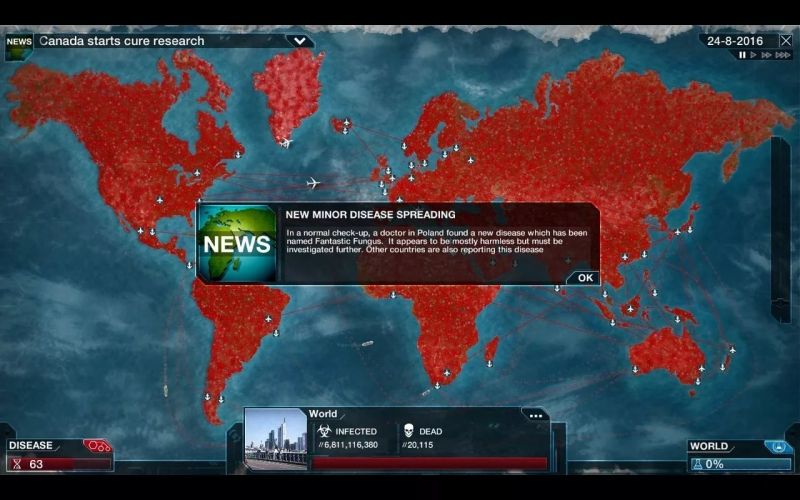 Plague inc evolved - cure