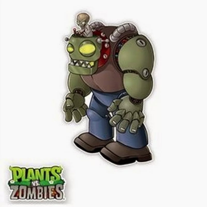 Plants vs. Zombies - Доктор Зомбосс