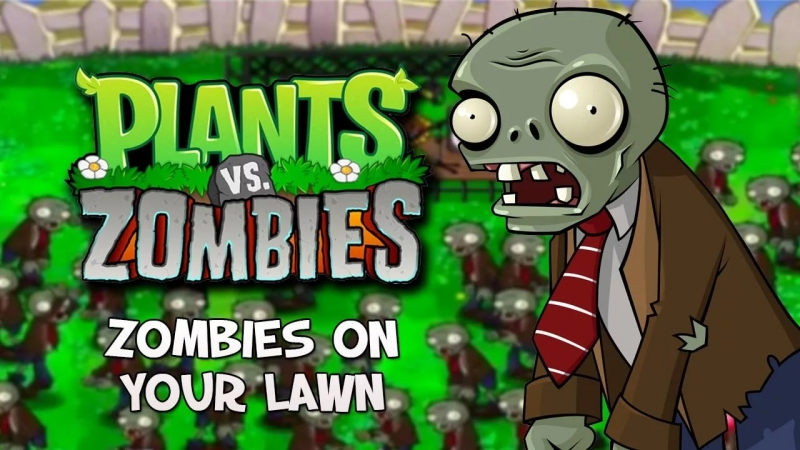 Plants vs. Zombies - Zombie On Your Lawn
