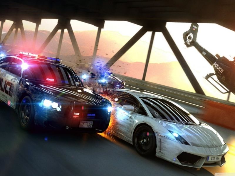 Полицейская музыка из Need For Speed Most Wanted 2005 - Need For Speed Most Wanted Police Chase Music