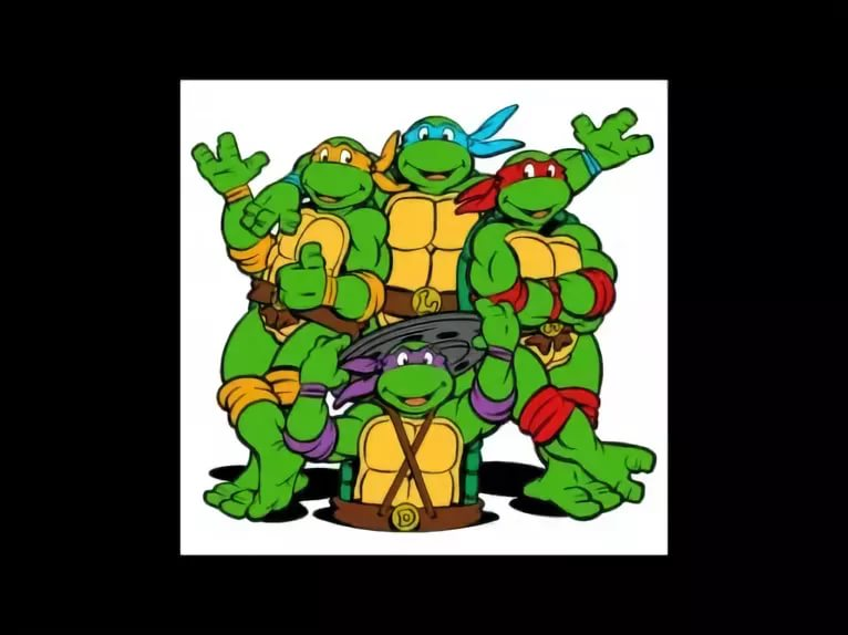 Present Simple - Teenage Mutant Ninja Turtles