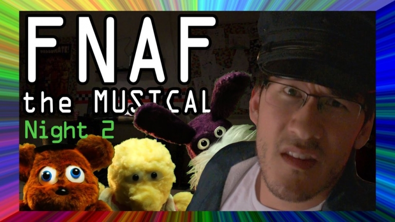 Random Encounters ft. Markiplier - FNAF Five Nights at Freddy\'s - The Musical. Night 1