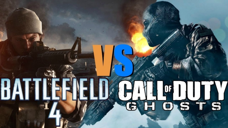 Call of Duty Ghosts -Battlefield 4