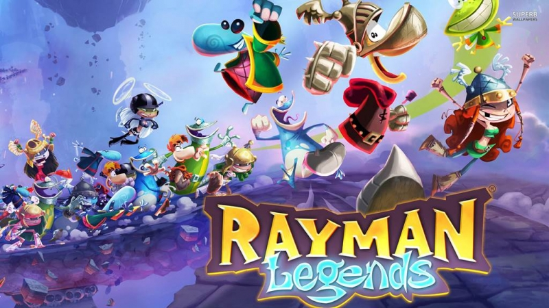 Rayman Legend OST - Eye of the Tiger Mariachi Madness 8-bit