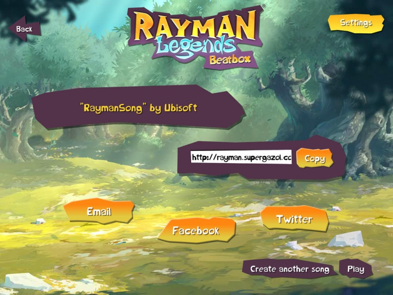 Rayman Legends Beatbox - Free improvisation