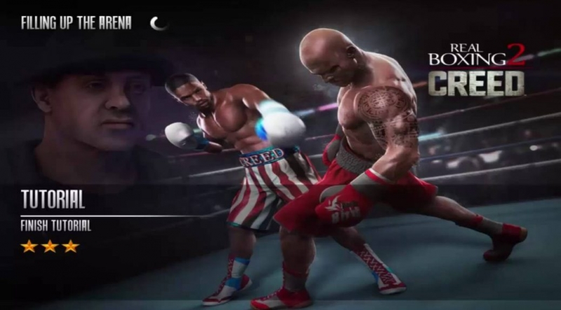Real Boxing 2 CREED - Arena Showing