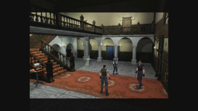 Resident Evil 1 - 26 - Second Floor Mansion AGAIN