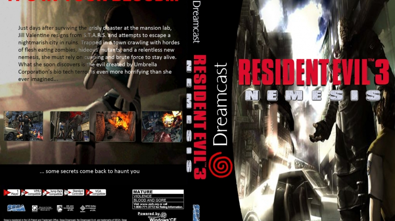 Resident Evil 3 Nemesis/Biohazard 3 Last Escape - The City Of Ruin