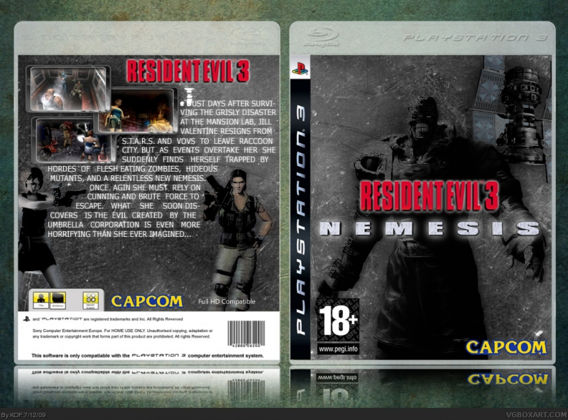 Resident Evil 3 Nemesis/Biohazard 3 Last Escape - The Last Arguement