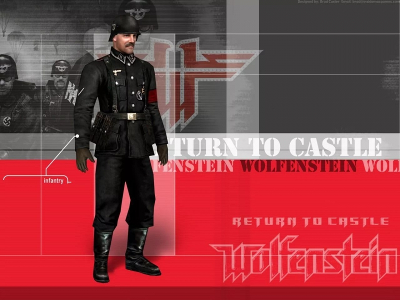 Return to Castle Wolfenstein - Dark Guard Suite