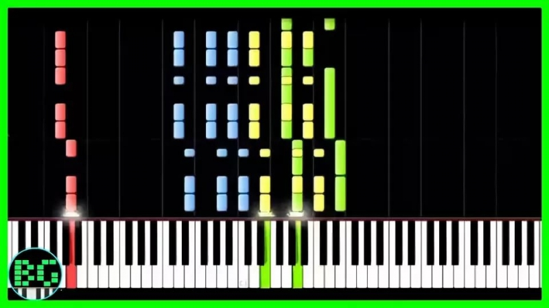 Rinoha - What Does the Fox Say - IMPOSSIBLE REMIX Synthesia