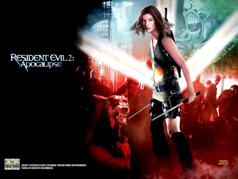 Rob Zombie / OST Resident Evil 2 Apocalypse 2004 - Girl On Fire Resident Renholder Mix