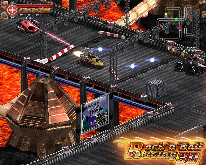 Rock'n'Roll racing (SMD, SNES) - highway-star 8bitHiTBoY\'s VRC6 remix