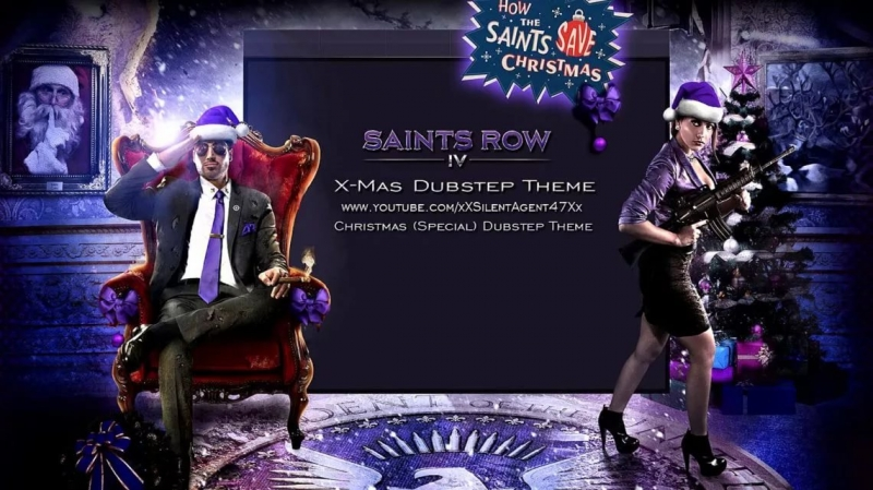 Saints Row 4 - Crisas Dubstep gun