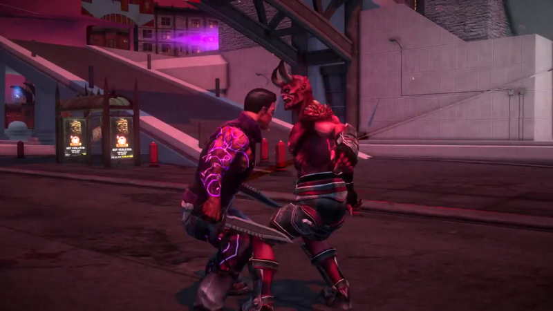 Saints Row Gat out of Hell - Hellblazing