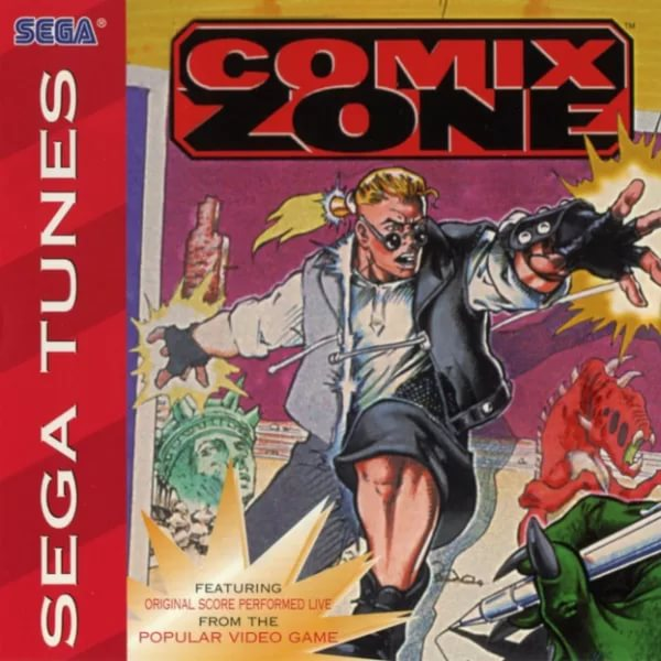 Sega Tunes Comix Zone - Howard Drossin - Seen It For Days
