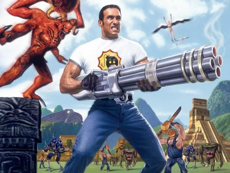Serious Sam The Second Encounter - Grand Cathedral