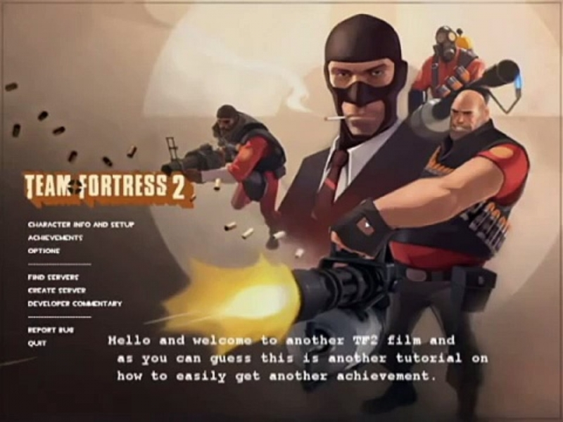 ShadowthePast - Team Fortress 2 Fight