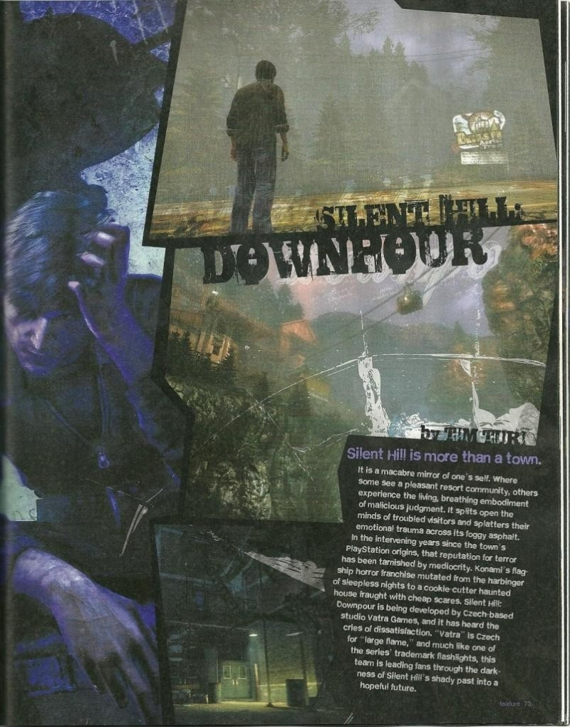 Silent hill Downpour - Old Town