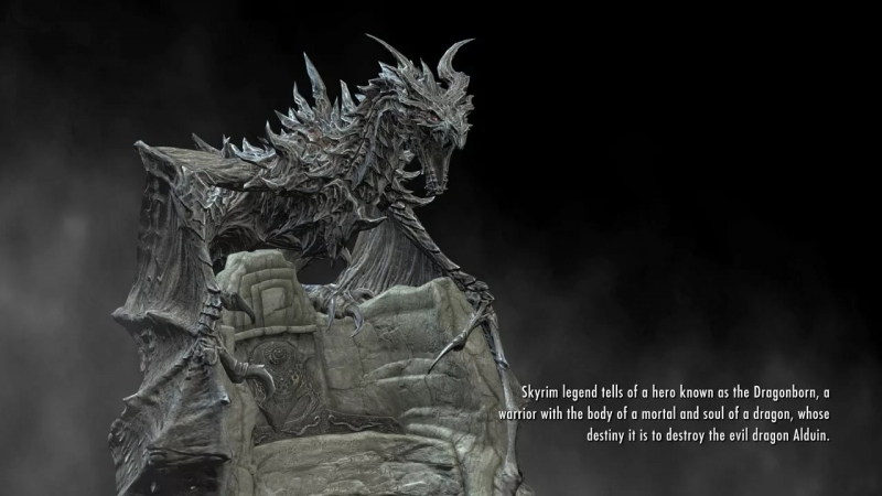 Skyrim - the Legend of the DRAGONBORN