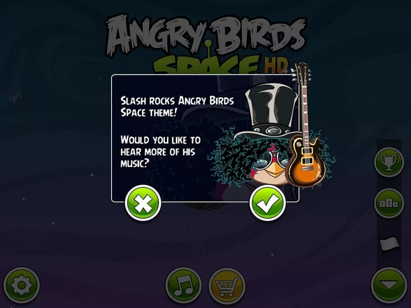 Slash - Angry Birds Space