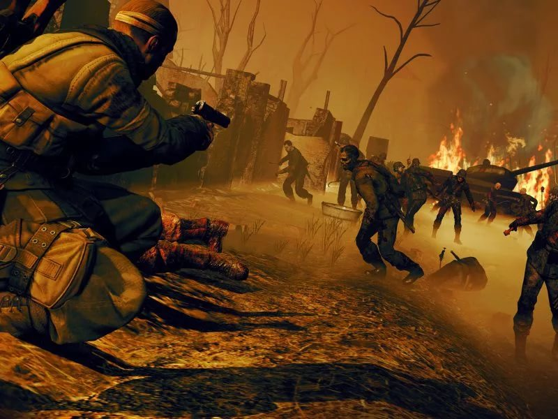 Sniper Elite Nazi Zombie Army 2 OST - Hell's Gate