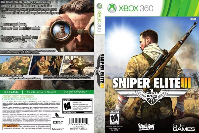 Sniper Elite OST - Battle 3