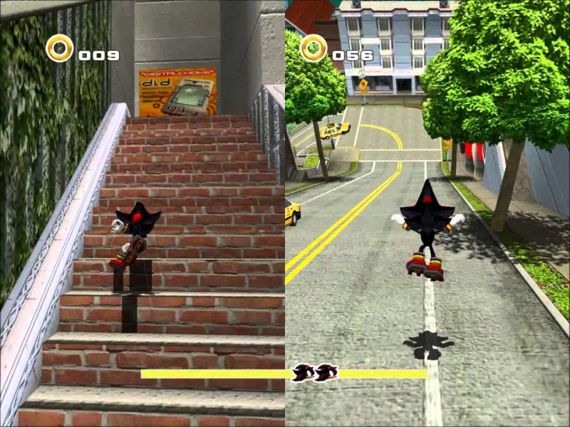 Sonic Adventure 2 Cuts Unleashed - Escape From The City (Instru..