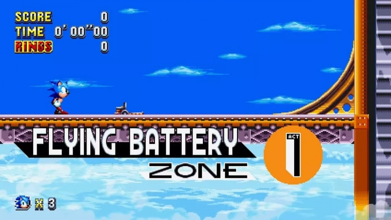 Sonic And Knuckles - Flying Battery Zone Act 2