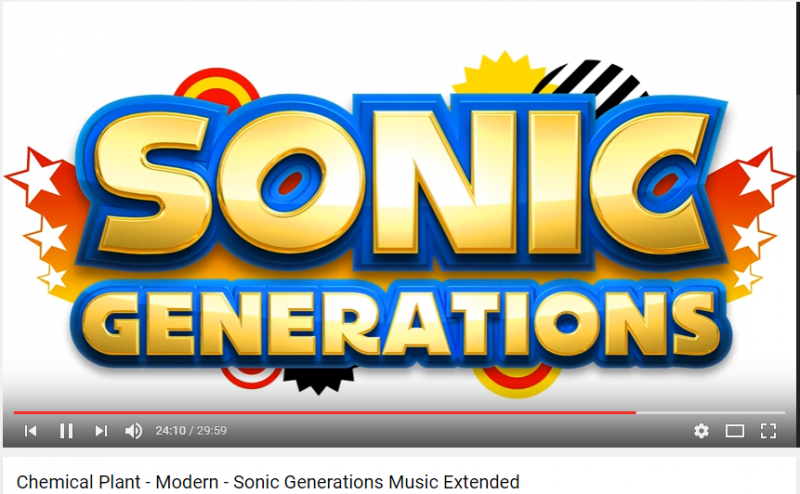 Sonic Generations Sound Team - Time Eater Phase 1