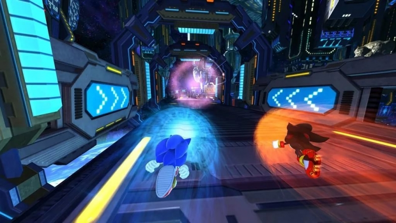 Sonic Generations - vs. Shadow
