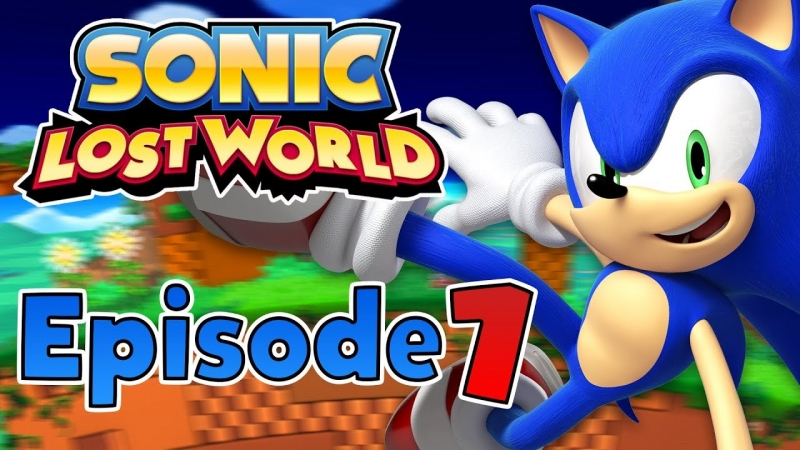 Sonic Lost World 3DS - Windy Hill - Act 1
