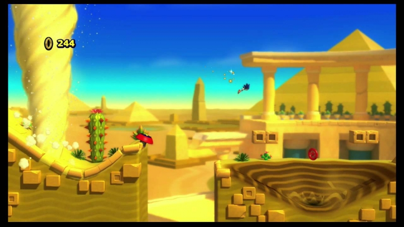 Sonic Lost World - Desert Ruins Zone 4