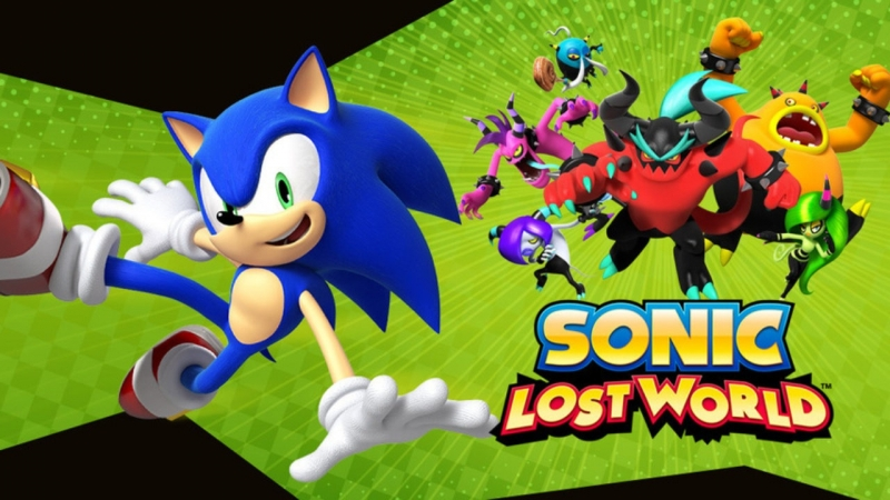 Sonic Lost World - Sky Road - Zone 4 Thundercloud Acropolis