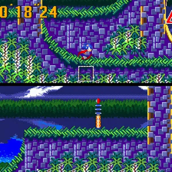 Sonic the Hedgehog 3 and Sonic & Knuckles - Azure Lake