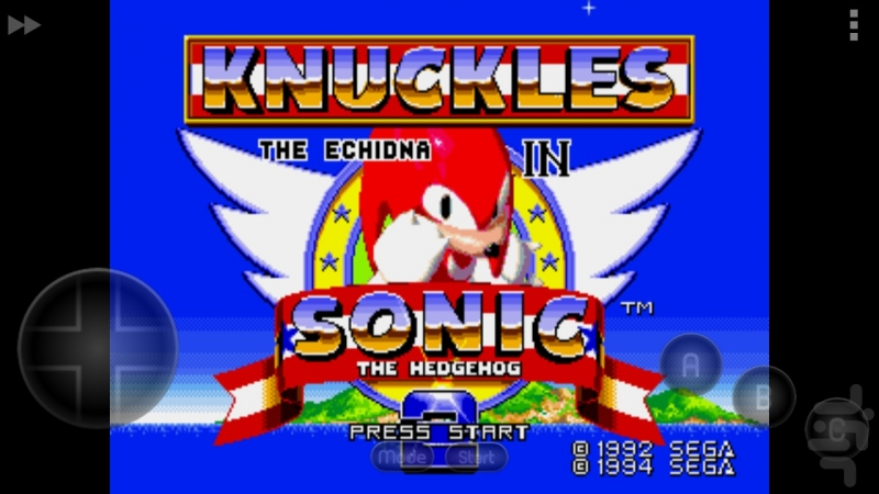 Sonic the Hedgehog 3 and Sonic & Knuckles - Title Screen