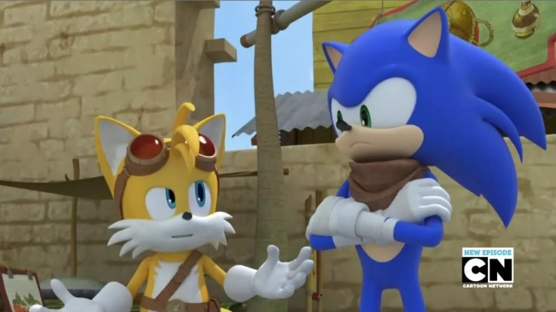 ''Sonic The Hedgehog and Teils The Fox''