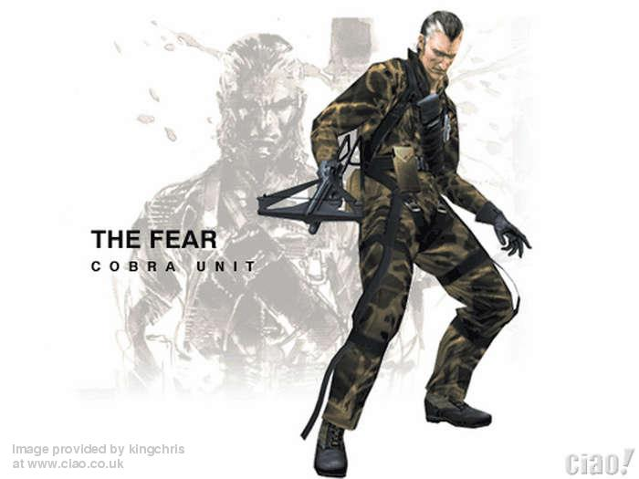Soundtrack (Metal Gear Solid 3  Snake Eater Soundtrack) - 15 - The Fear