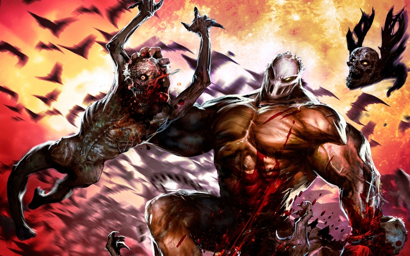 Splatterhouse - Blood and Thunder