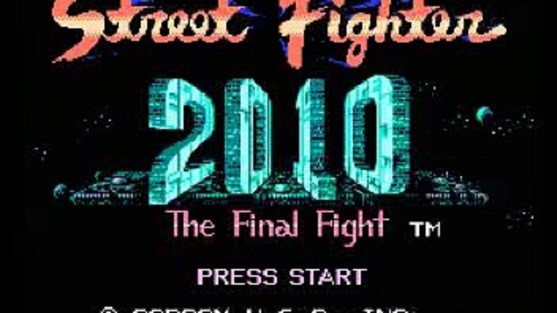 Street Fighter 2010 The Final Fight - Planet 3, Area 1