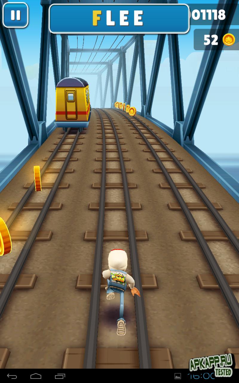 Игры На Андроид 2.2 Игра Subway Surf