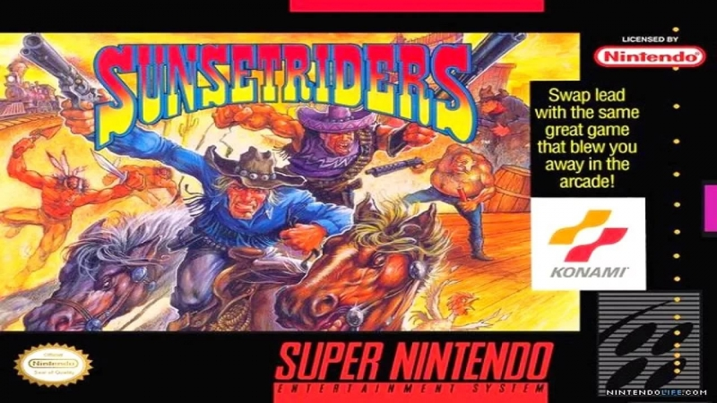Sunset Riders - Track 20 - Mega Drive VA6.5