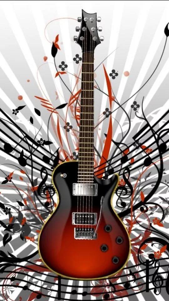 Рисунок на тему гитара