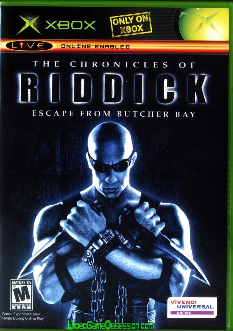 The Chronicles of Riddick Escape from Butcher's Bay - Prison Break Action Track