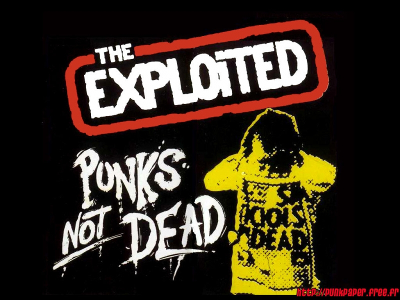 The Exploited - Punks not Dead (1981) - What you gonna Do