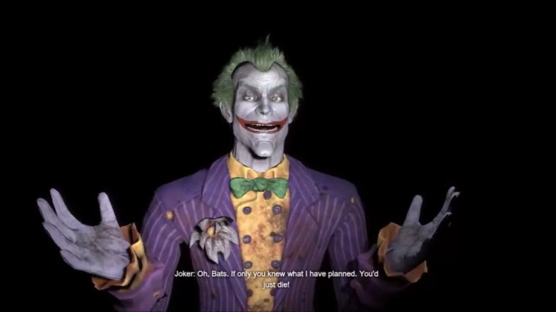 The Joker - Joker sings Only You with music - Baan Arkham City