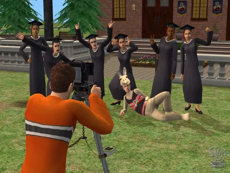 The Sims 2 University - Go Betty Go - Very Very Rich Town