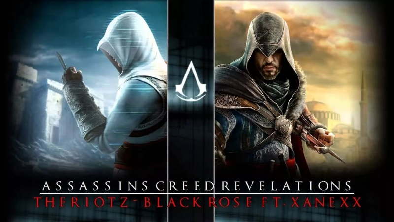 Theriotz - Black Rose Assassin\'s Creed Revelations Two Assassins One Destiny Trailer