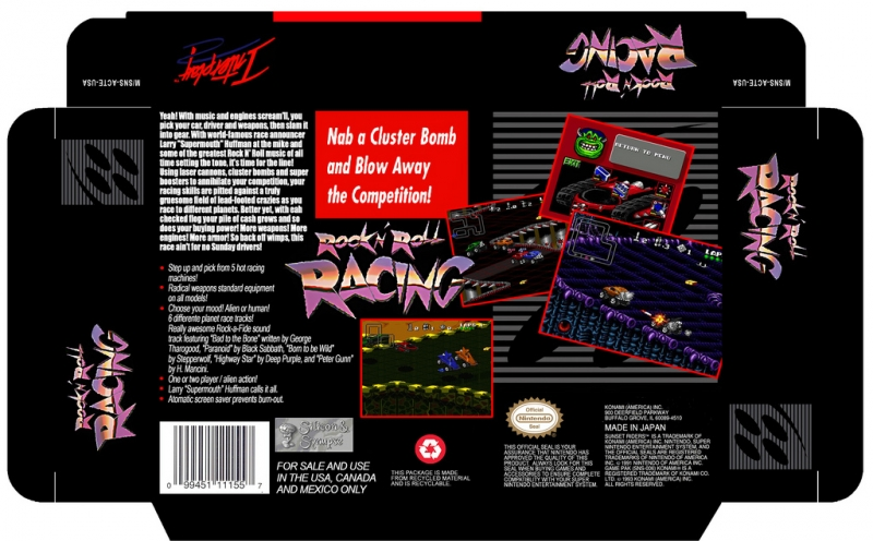 Tim Follin, Deep Purple - Rock 'n' Roll Racing snes - 03 Highway Star alpha-spc