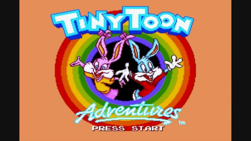 Tiny Toon Adventures Buster's Hidden Treasure - Inside the Caverns